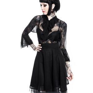 be8eb300c0 Killstar Dresses - Killstar Gothic Nu-Mourning Decay Dress